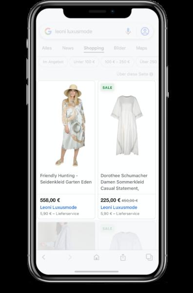 Google Shopping mit Lyonic aus Bielefeld