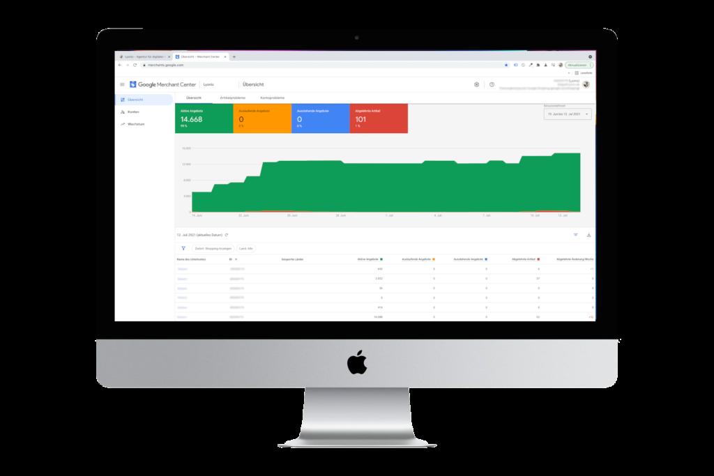 Google Merchant Center Agentur