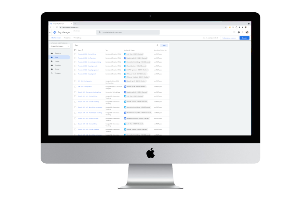 Google Tag Manager Agentur